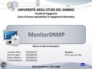 MonitorSNMP