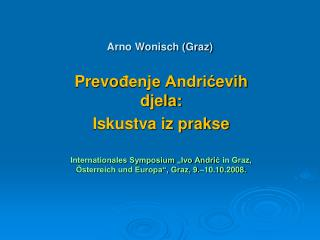 Arno Wonisch (Graz)