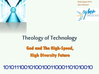 The Intersection of Science and Theology