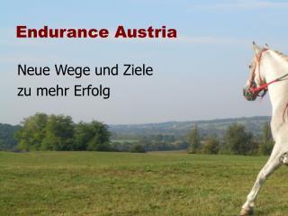 Endurance Austria
