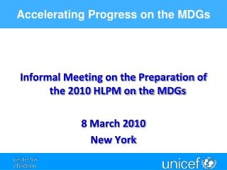 Global Measles  Programme Update