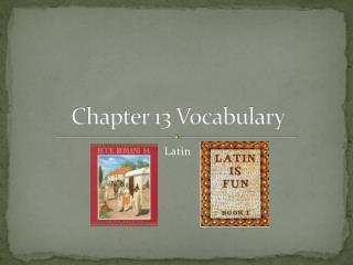 Chapter 13 Vocabulary