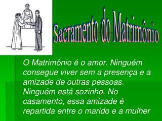Sacramento do Matrimônio