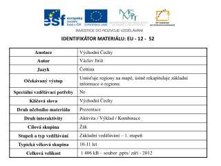 Identifikátor materiálu:  EU -  12  -   52