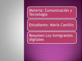 imigrantes digitales