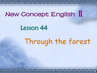 New Concept English Ⅱ