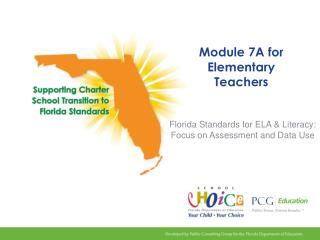 Module 7A for Elementary Teachers