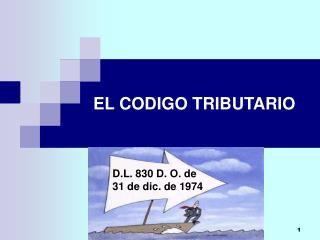 EL CODIGO TRIBUTARIO