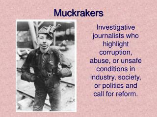 Ppt The Original Investigative Reporters Powerpoint