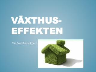 Växthus-effekten