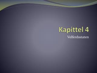 Kapittel 4