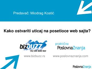 Predavač: Miodrag Kostić