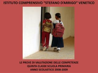 "ISTITUTO COMPRENSIVO ""STEFANO D'ARRIGO"" VENETICO"
