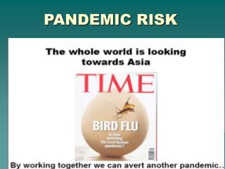 PANDEMIC RISK