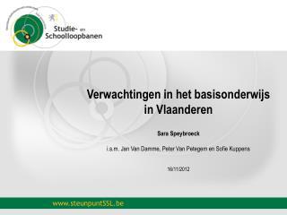 Verwachtingen in het basisonderwijs in Vlaanderen