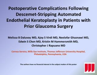 Melissa B  Daluvoy MD,  Ajoy  S  Virdi  MD,  Neelofar Ghaznawi  MD,
