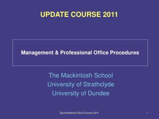 Management & Professional Office Procedures