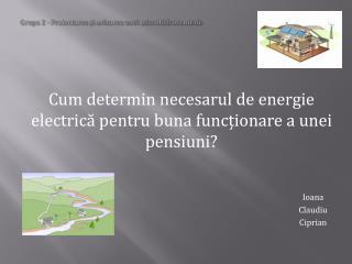 Grupa 2 - Proiectarea și avizarea unei microhidrocentrale