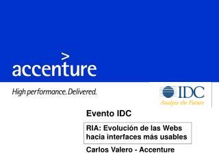 Evento IDC