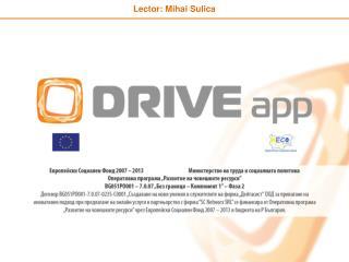 Lector:  Mihai Sulica
