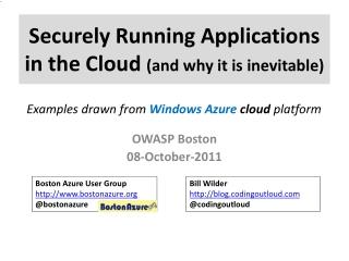 Windows Azure Platform Overview for IT Professionals