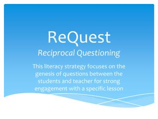 ReQuest Reciprocal Questioning