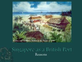 Singapore as a British Port