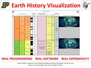 Earth History Visualization