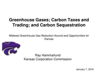 Ray Hammarlund Kansas Corporation Commission