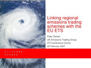 Linking regional emissions trading schemes with the EU ETS