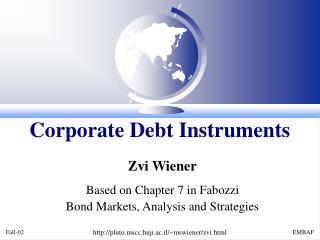 Corporate Debt Instruments