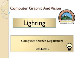 Computer Graphic And Vision