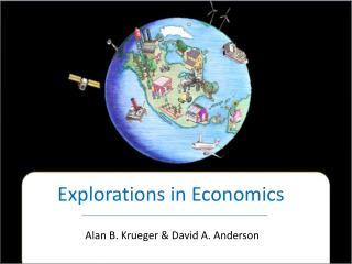 Explorations in Economics