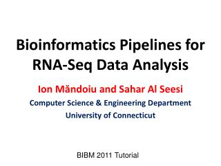 Bioinformatics Pipelines for RNA- Seq  Data Analysis