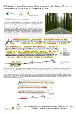 15th European Forum on Urban Forestry  Conference : Leipzig , Germany, May 8 – 12,  2012