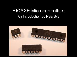 PICAXE Microcontrollers