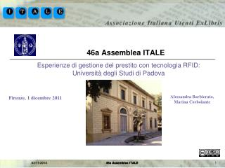 46a Assemblea ITALE