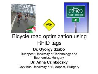 Bicycle road optimization using RFID tags