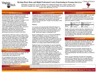Resting Heart Rate and Right Prefrontal Cortex Functioning in Trauma Survivors