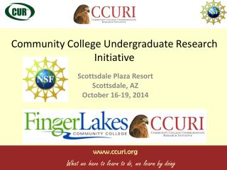 Community College Undergraduate Research Initiative