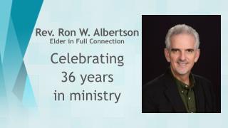 Rev. Ron W. Albertson