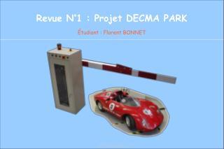 Revue N°1 : Projet DECMA PARK