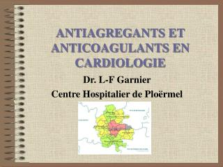 ANTIAGREGANTS ET  ANTICOAGULANTS EN CARDIOLOGIE
