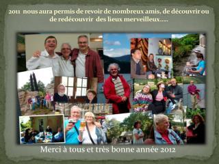 Merci à tous et très bonne année 2012
