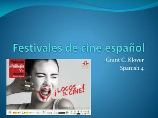 Festivales de cine español