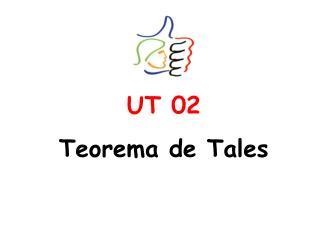 UT 02 Teorema de Tales