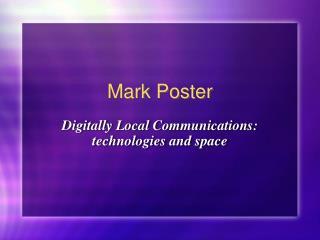 Mark Poster