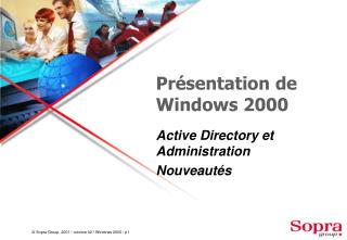 Présentation de Windows 2000