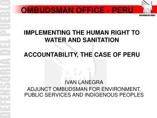 OMBUDSMAN OFFICE - PERU