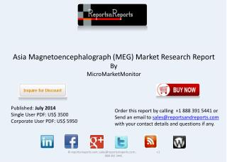 Asian Magnetoencephalograph Industry expected to grow
